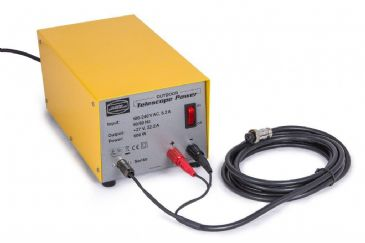 Baader 27V Outdoor Telescope Power Supply with Power Feed Sensor for 10Micron GM4000 Mounts